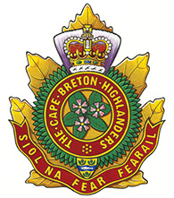 The Cape Breton Highlanders Badge
