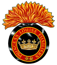 The Princess Louise Fusiliers Badge
