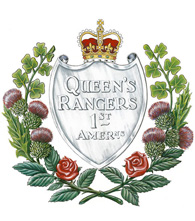 Insigne du The Queen's York Rangers