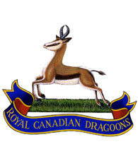 Insigne du Royal Canadian Dragoons