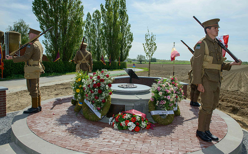 PPCLI Memorial at Frezenberg, Belgium