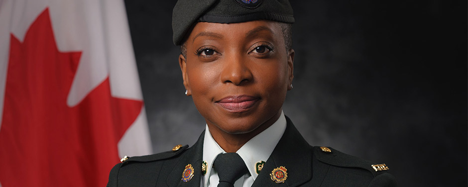 Slide - Warrant Officer Avril Jno-Baptiste-Jones