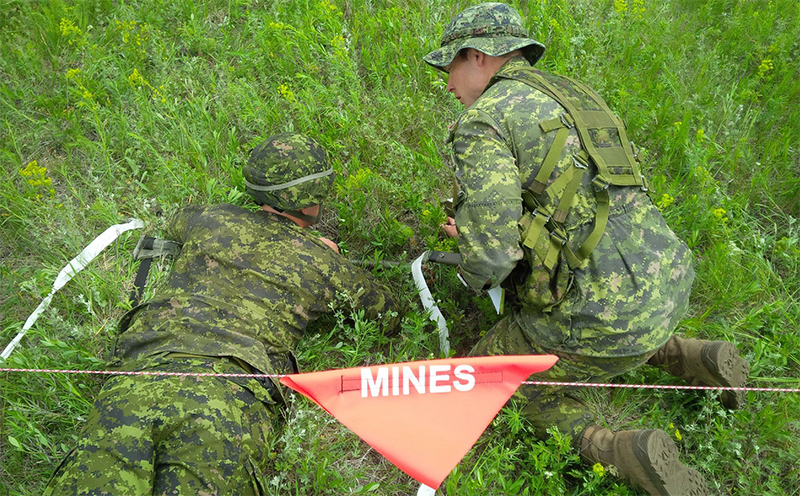 Mine training