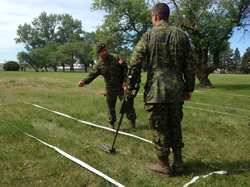 Pre-deployment training at CFB Shilo in June 2016.
